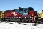 WAMX GP40-3 4041