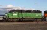 BNSF GP38-2 2079