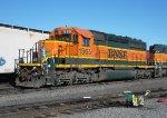 BNSF SD40-2 1865