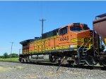 BNSF C44-9W 4445