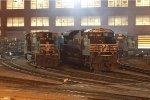 NS 9-40CW 9533 & SD70M-2 2758