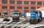 NS 9-40CW 8956 & SD50 5400