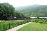 NS 9-40CW 9306 around Horseshoe Curve
