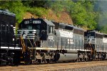 NS SD40-2 6132 on 11A