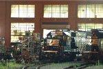 NS SD40E 6325 & 6307