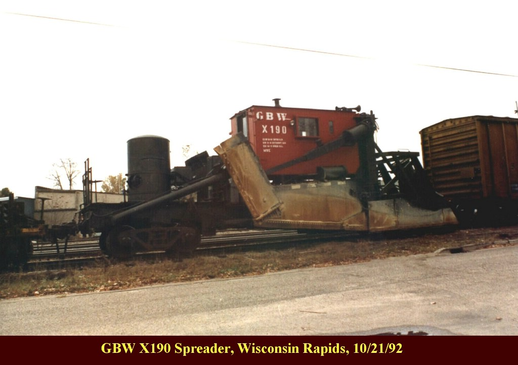 GBW X190 Spreader