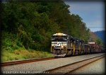 NS SD70ACe 1044 leads an eastbound manifest