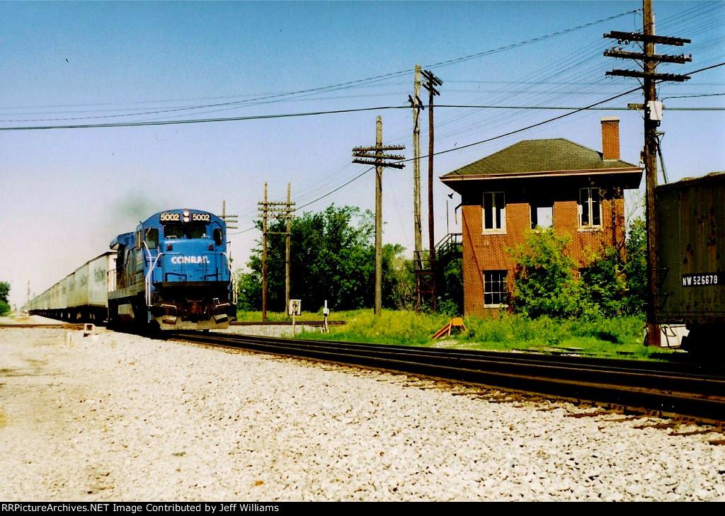 Roadrailer at Leipsic Junction