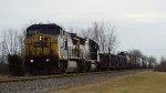CSXT CW40-8 7804--unkown NB--Piqua, OH 01222017