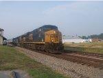 CSX Q171 at Emporia Depot
