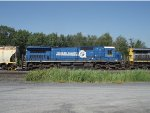 CSX Q366 with the last C40-8 in CR paint on CSX