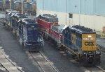 Pan Am and ex-Rail America power