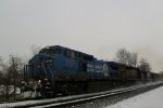 Conrail leading a Mixed Freight
