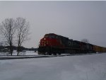 CN Mixed Freight