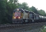 CITX SD40M-2 leads an eastbound K-Worm