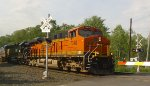 BNSF and HLCX in new paint