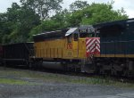 Westbound CSX Mixed Frieght leased power