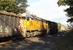CITX SD40M-2 on a westbound mixed freight