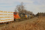 Eastbound CSX/CN Mixed Freight