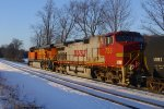 BNSF at the Railfan Bluff
