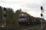 NS-Santa Fe-CSX approaching New Scotland South Rd