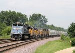 """My First Encounter with a UP Heritage Unit. UP #1982 """"Mopac"""" was a Sight to See!"""
