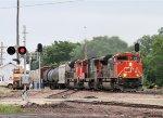 Westbound CN Freight Highballs it