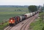 Westbound CN Freight