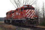 CP GP9u and SD40-2