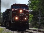 CP 253 Departing Mohawk Yard