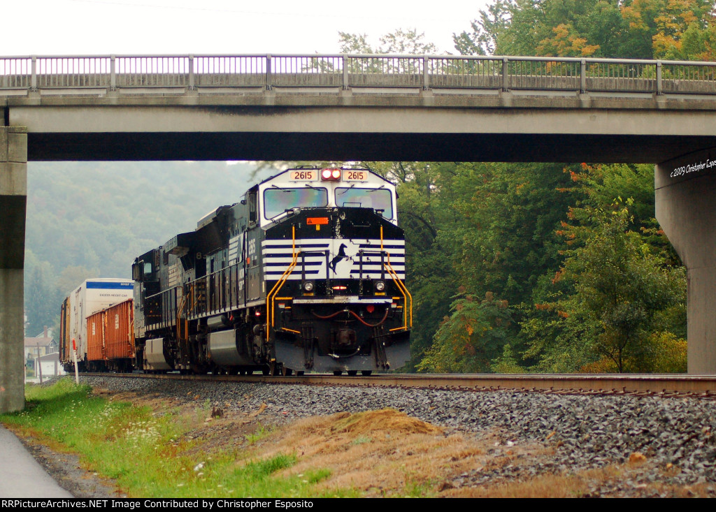 NS SD70M 2615 leads 10G
