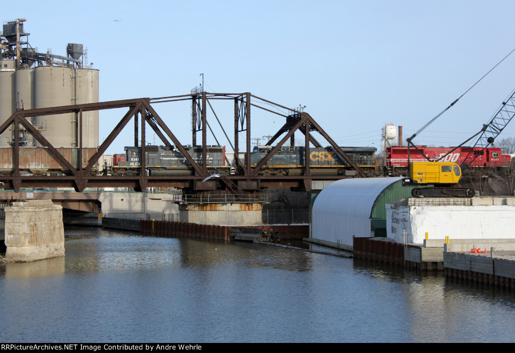 The gulls are still perturbed by the presence of CP train 642