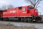 CP 4407 with G67 on its way back to Muskego Yard