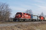 Pure SD40 goodness on CP train 277 westbound