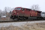CP 9668 leads westbound 281