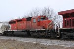 I lost count of the SD40-2s on this day