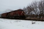 CP 8542 is a one-unit wonder for EB train 498