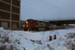 BNSF 758 leads the westbound Empire Builder