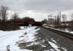 CP 9629 pounds over the CN crossing