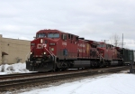 Closer shot of CP 8602 West