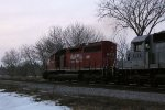 DME 6074 charges into the sunset with another ethanol train