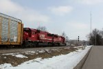SOO 6045 trails the matching pair of Candy Apple Red SD60s