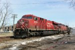 CP 8732 leads an AC4400CW on a westbound coal train