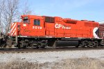 CP 3019 completes the pure spartan cab EMD lashup powering 281