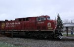 CP 9676 is the sole power on westbound 299