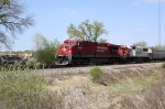 CP 8797 leads SOO 6022 on eastbound 498