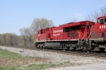 CP 8807 is revealed by #8's passage