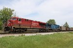CP 8700 and its CEFX bluebird partner westbound