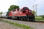 CP 4509 takes a 14-car G67 patrol back east to Milwaukee