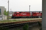 CP 4618 leads G67 back into Muskego Yard